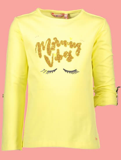 Nono Shirt Kara Morning Vibes light lemon #5401 von Nono Sommer 2019