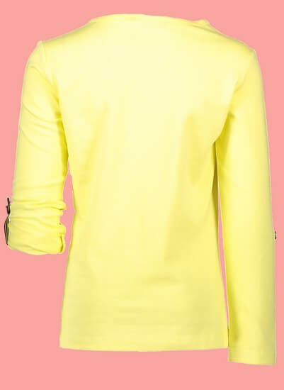 Kindermode Nono Sommer 2019 Nono Shirt Kara Morning Vibes light lemon #5401