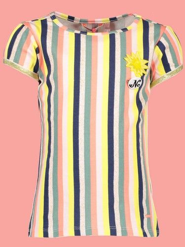 Nono T-Shirt Kamsi stripes light lemon #5406 von Nono Sommer 2019