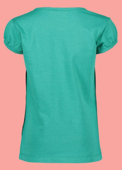 Kindermode Nono Early Spring 2019 Nono T-Shirt Kamsi Stars smaragd green #5410