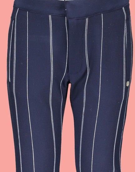 Kindermode Nono Early Spring 2019 Nono Hose Susan Stripes navy #5600