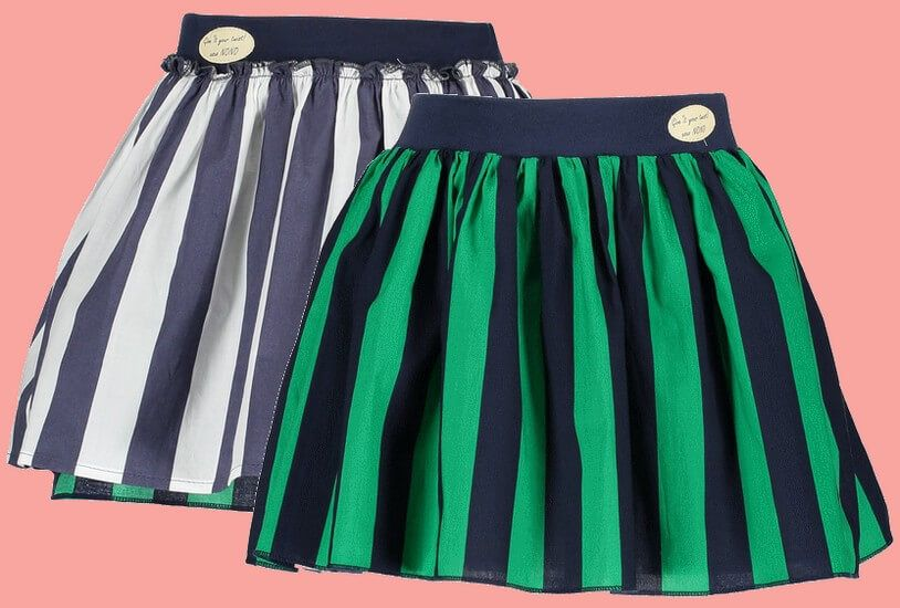 Kindermode Nono Early Spring 2019 Nono Rock / Wenderock Numa Stripes green/navy #5704