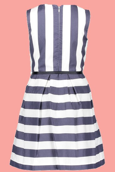 Kindermode Nono Early Spring 2019 Nono Kleid Malua Stripes navy #5804