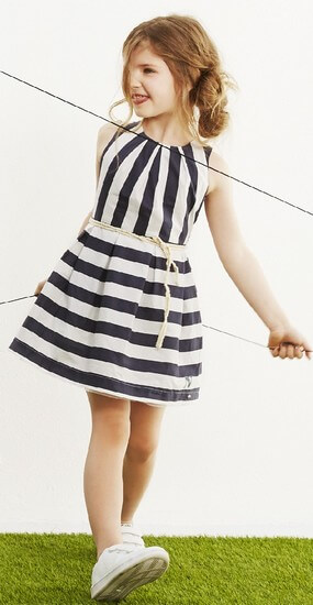 Nono Kleid Malua Stripes navy #5804
