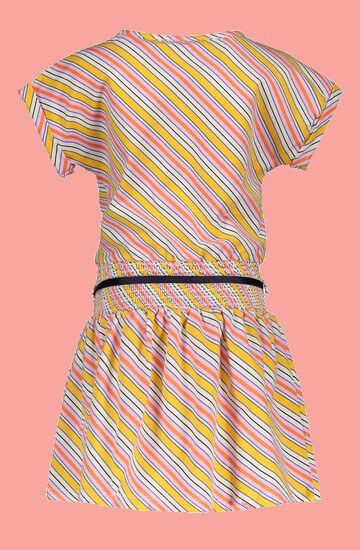 Kindermode Nono Sommer 2020 Nono Kleid Moos stripes yellow #5801