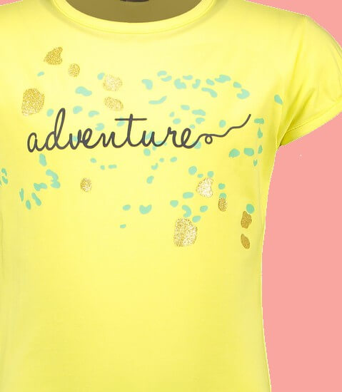 Kindermode Nono Sommer 2021 Nono T-Shirt Kamsi Adventure Lime light #5400