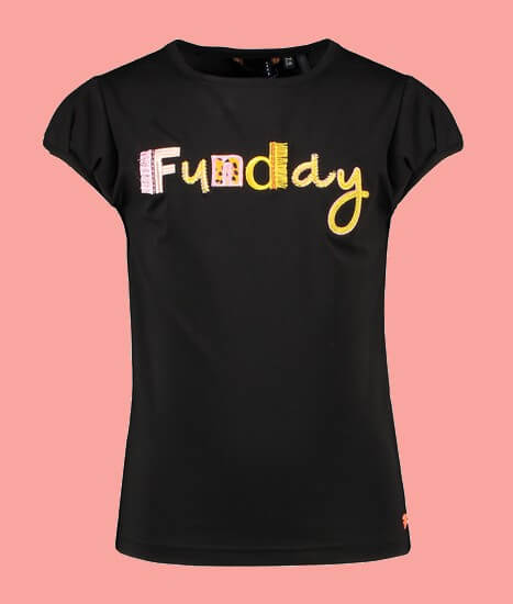 Kindermode Nono Sommer 2021 Nono T-Shirt Kamsi Funday black #5401