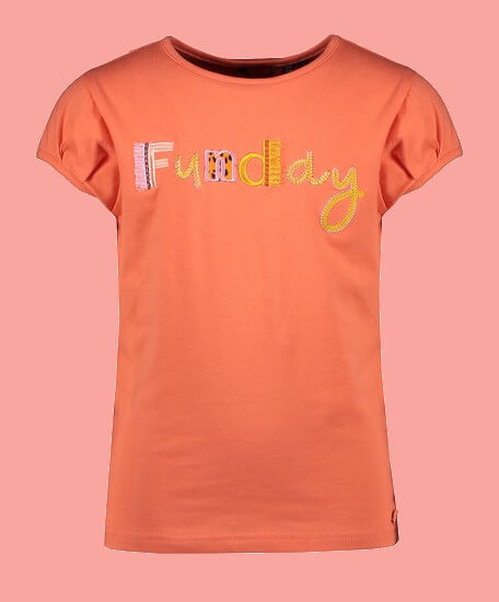 Kindermode Nono Sommer 2021 Nono T-Shirt Kamsi Funday orange #5401