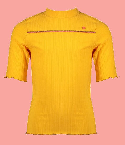 Kindermode Nono Sommer 2021 Nono T-Shirt Kyra yellow/orange #5408