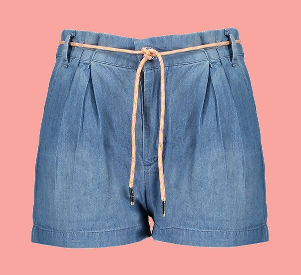 Kindermode Nono Sommer 2021 Nono Hotpants / Shorts Sally blue denim #5602