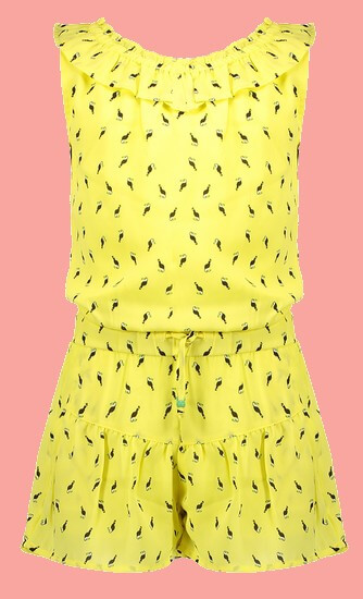 Kindermode Nono Sommer 2021 Nono Jumpsuit / Overall Suri Toucan Lime light #5606