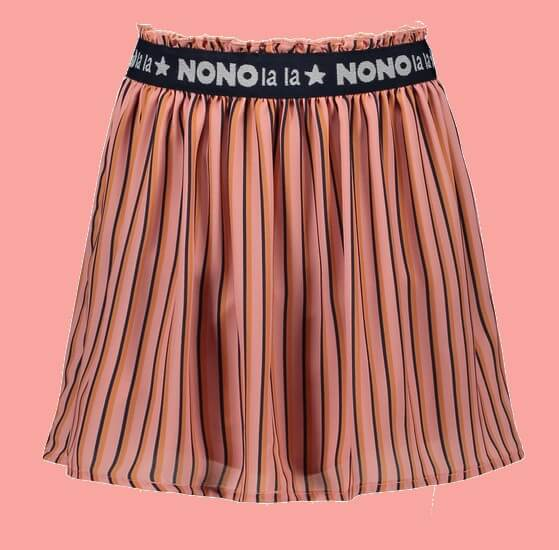 Kindermode Nono EarlySpring 2021 Nono Rock Nele stripes lychee/pink #5700