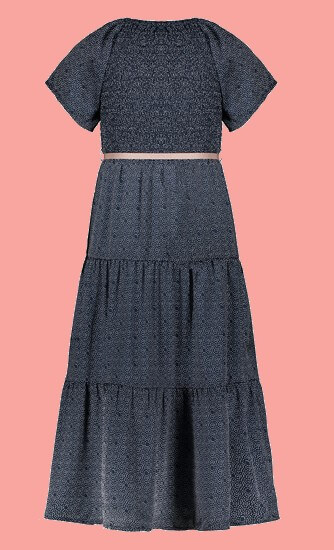 Kindermode Nono EarlySpring 2021 Nono Kleid / Maxikleid Malia dots navy #5806
