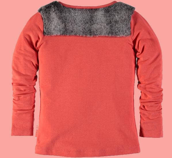 Kindermode Nono Winter Nono Pullover Kus hot coral #5406
