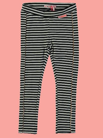 Kindermode Nono Winter Nono Leggings Sole striped anthrazit #5501