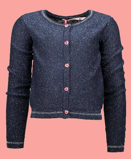Kindermode Nono Winter Nono Jacke / Strickjacke Aivy navy #5304
