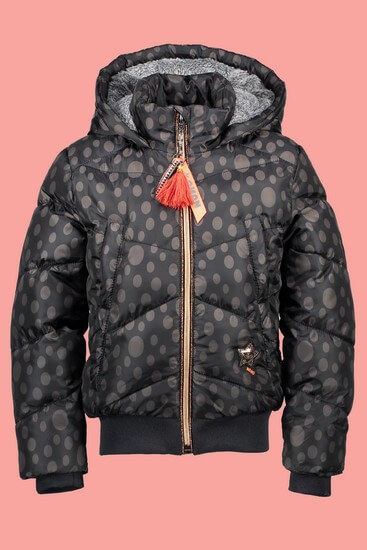 Nono Jacke / Winterjacke Brecht dots black #5206 von Nono Winter 2018/19