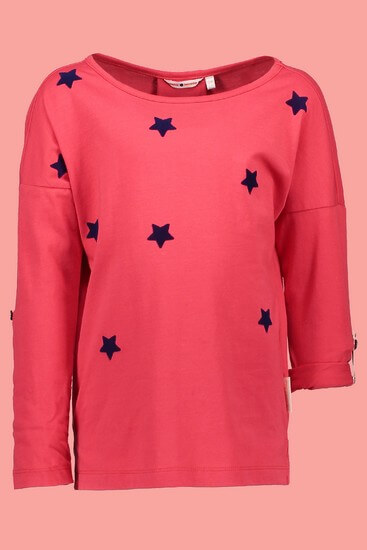 Nono Shirt Komu Stars bright red #5404 von Nono Winter 2018/19