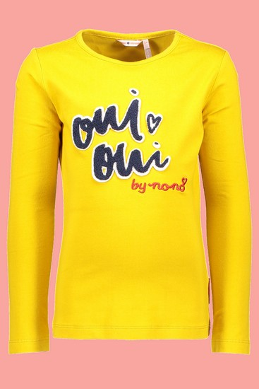 Nono Shirt Kus Oui Oui amber yellow #5406 von Nono Winter 2018/19