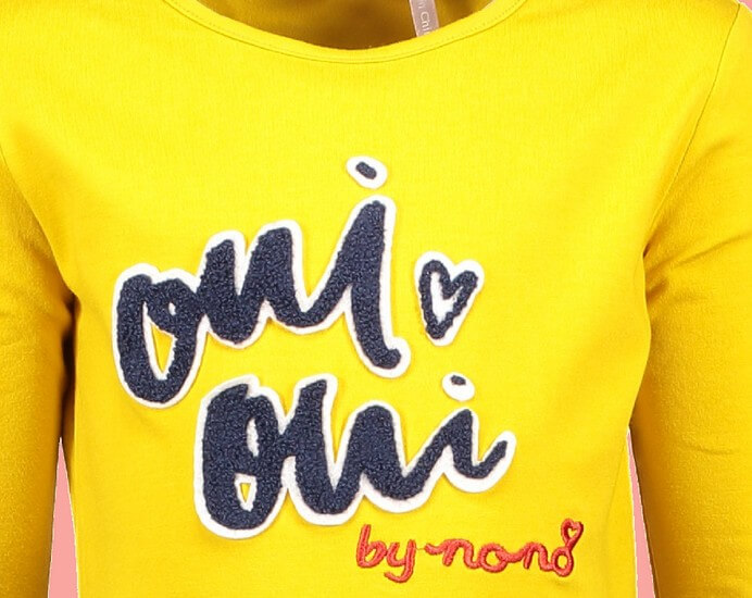 Kindermode Nono Winter 2018/19 Nono Shirt Kus Oui Oui amber yellow #5406