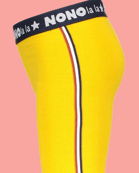 Kindermode Nono Winter 2018/19 Nono Leggings Sole Amber yellow #5501
