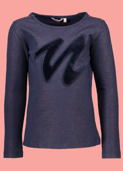 Nono Shirt Kus sparkle navy #5405 von Nono Winter 2018/19