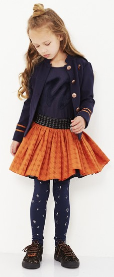 Kindermode Nono Winter 2018/19 Nono Shirt Kus sparkle navy #5405