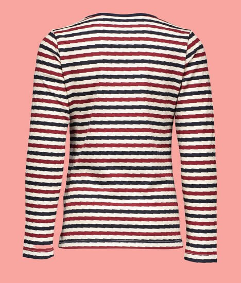 Kindermode Nono Winter 2019/20 Nono Shirt Kus striped white #5400