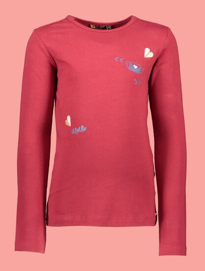 Kindermode Nono Winter 2019/20 Nono Shirt Kus red #5404