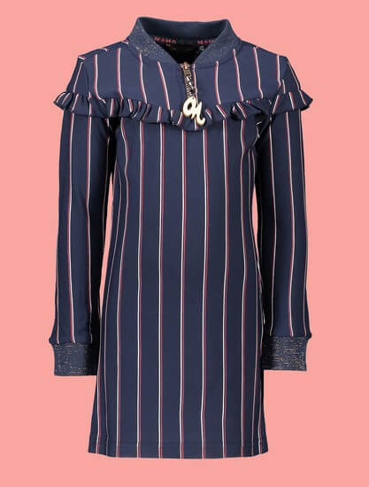 Kindermode Nono Winter 2019/20 Nono Kleid Monky navy #5801