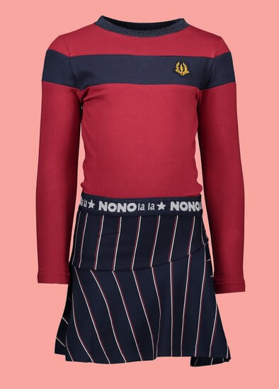 Kindermode Nono Winter 2019/20 Nono Kleid Manu navy #5802