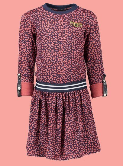 Kindermode Nono Winter 2019/20 Nono Kleid Mena Animal-Print #5806