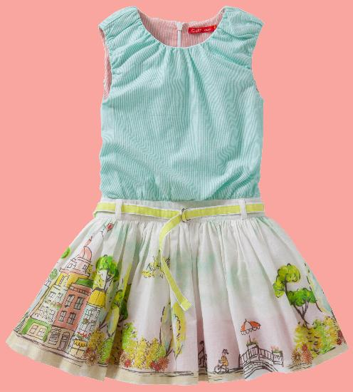 Kindermode Oilily Sommer Oilily Kleid Doliday multicolor #207