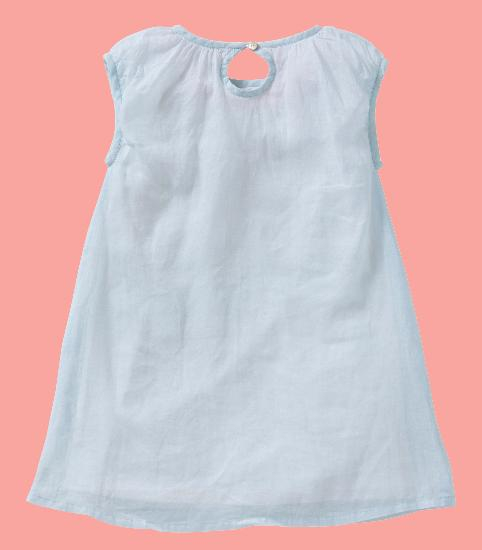 Kindermode Oilily Sommer Oilily Kleid Doola light blue #209