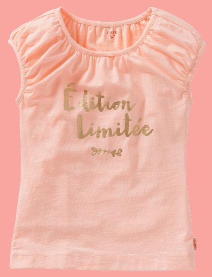 Kindermode Oilily Sommer 2016 Oilily T-Shirt Tooba pink #333