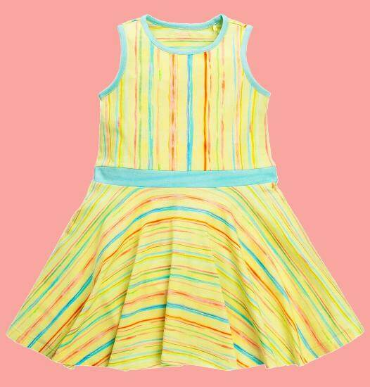 Kindermode Oilily Sommer 2017 Oilily Kleid Thalasso painted stripe #R283