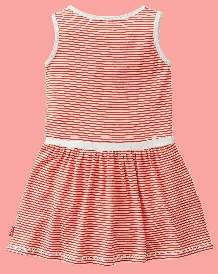 Kindermode Oilily Sommer 2017 Oilily Kleid Trout Crab redwhite stripe #R287