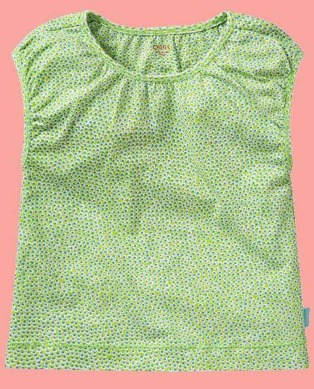Kindermode Oilily Sommer 2017 Oilily T-Shirt Tooba green dot #E215