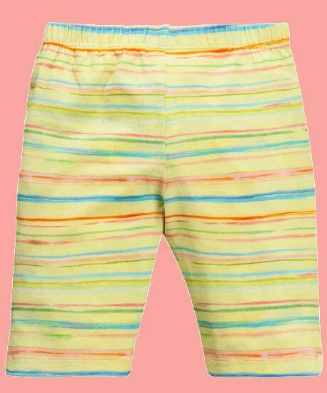 Kindermode Oilily Sommer 2017 Oilily Leggings Tappy stripe yellow #A081
