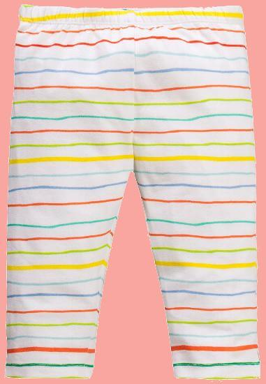 Kindermode Oilily Sommer Oilily Leggings Tappy Rainbow striped white #A282