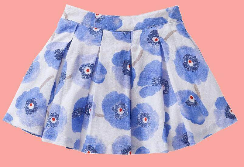 Kindermode Oilily Sommer 2017 Oilily Rock Splash Poppies white #K211