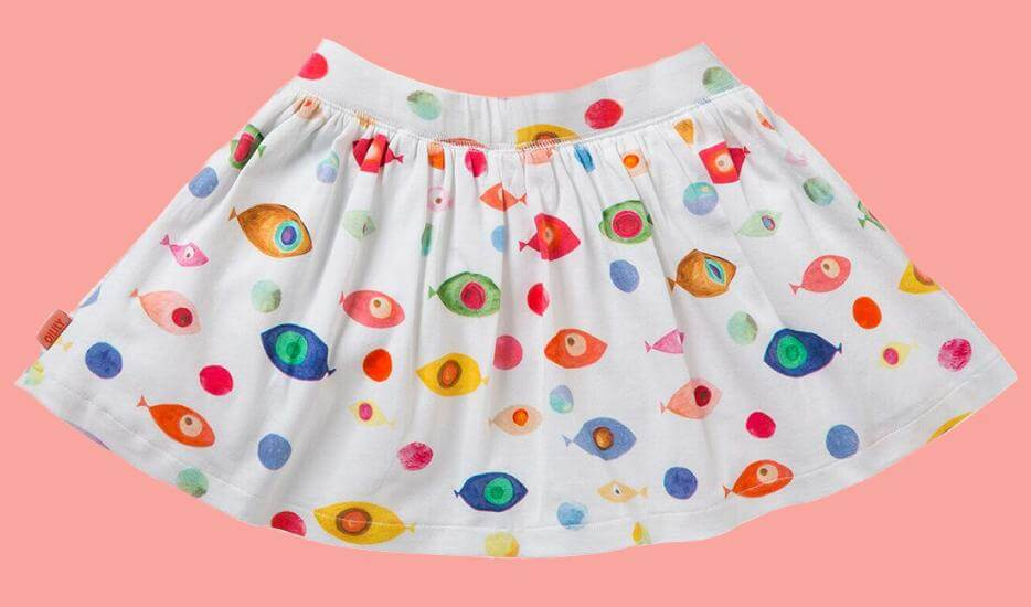 Kindermode Oilily Sommer 2017 Oilily Rock Tiptop Fish white #K283