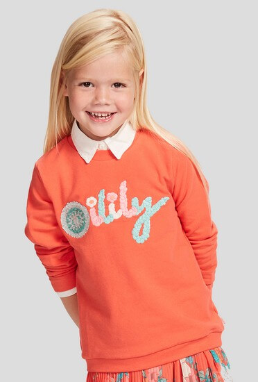 Oilily Sommer 2018 - Oilily Pullover Hiltje coral #202
