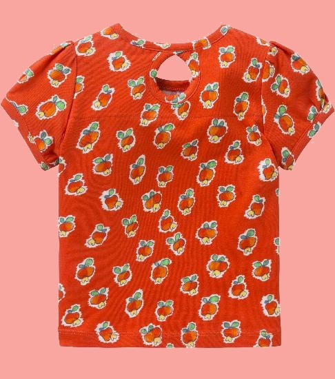 Kindermode Oilily Sommer 2018 Oilily T-Shirt Tabby apple red #001