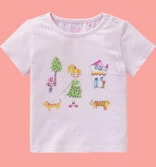 Kindermode Oilily Sommer 2018 Oilily T-Shirt Ti Baby Jane pink #005