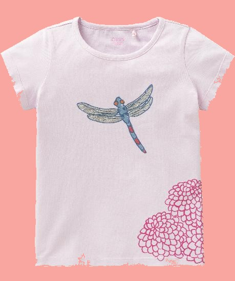 Kindermode Oilily Sommer 2018 Oilily T-Shirt Ti Libelle pink #215