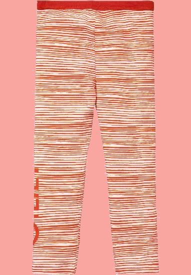 Kindermode Oilily Sommer 2018 Oilily Leggings Taski stripe red #284