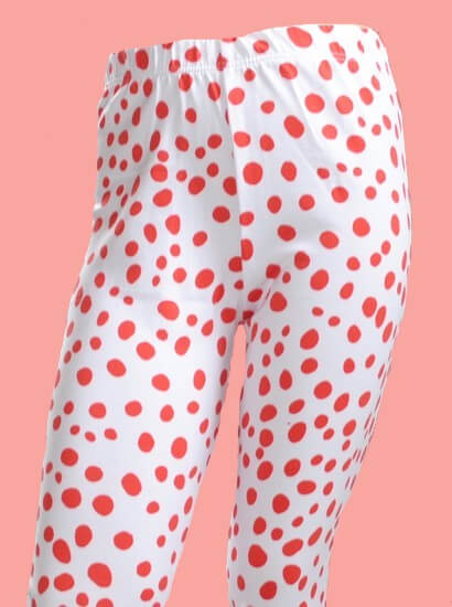 Kindermode Oilily Sommer 2019 Oilily Leggings Tiska red dots #283