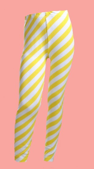 Kindermode Oilily Sommer 2019 Oilily Leggings Tiska yellow striped #286