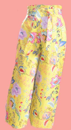 Oilily Hose Popup yellow #201 von Oilily Sommer 2020